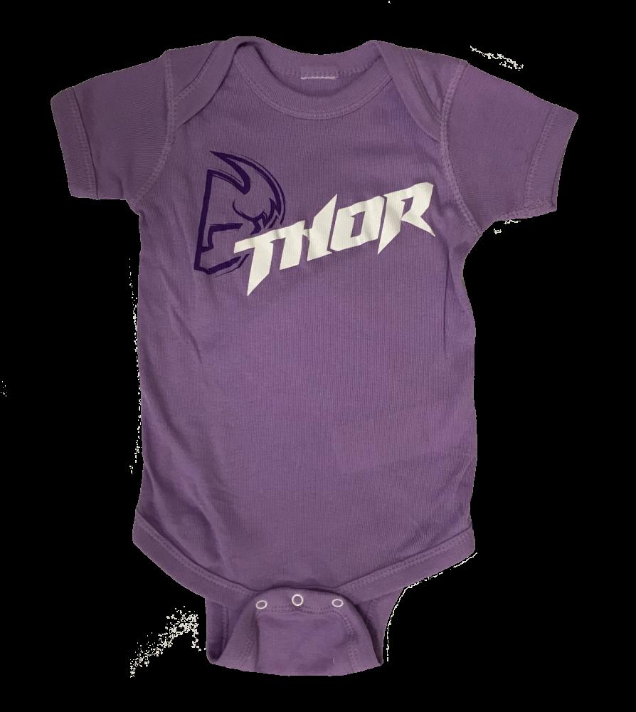Ensemble pour bébé Thor Mauve/Blanc