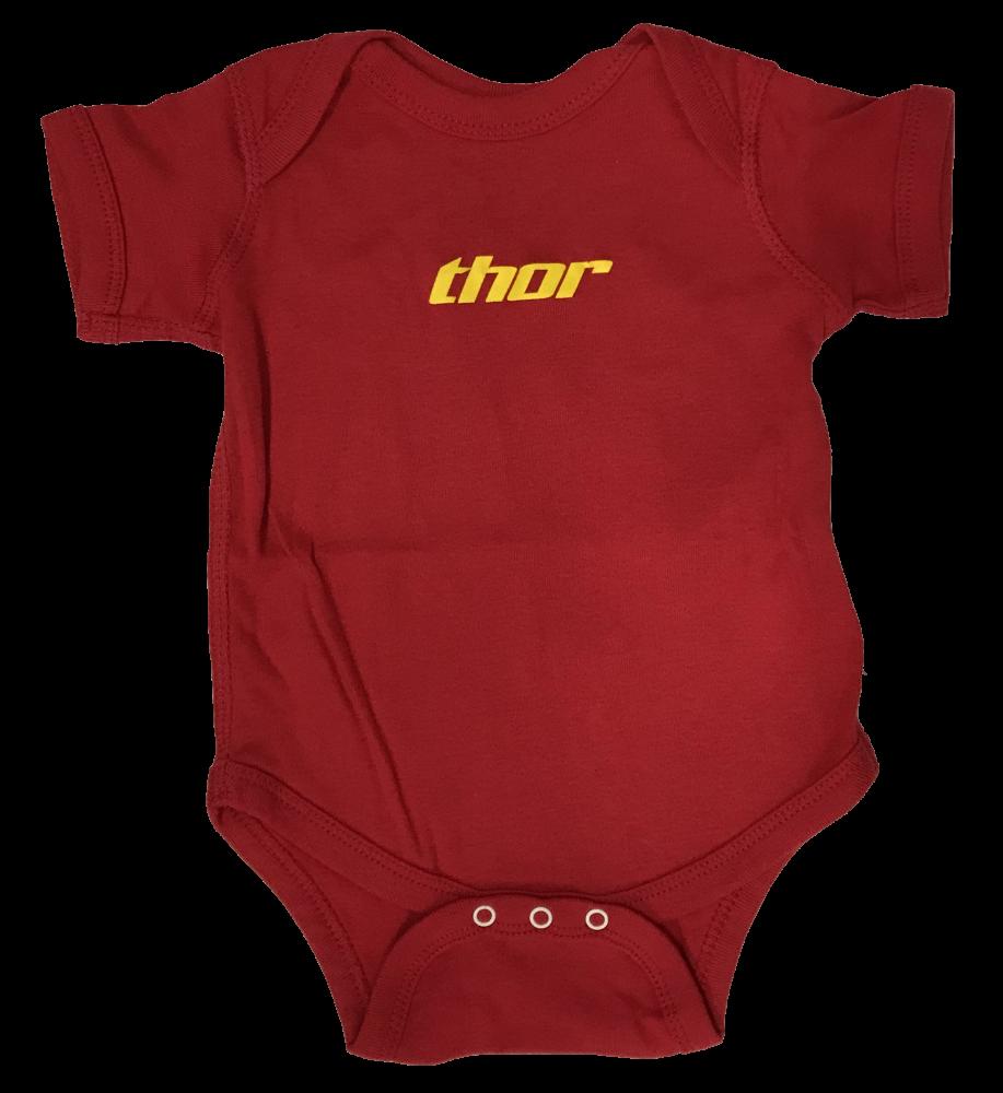 Ensemble pour bébé Thor Rouge/Jaune