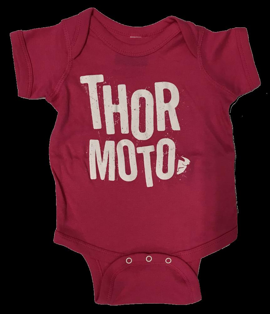 Ensemble pour bébé Thor Rose/Blanc