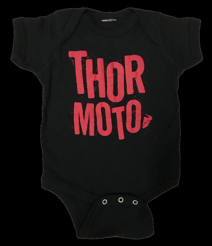 Ensemble pour bébé Thor Noir/Rouge