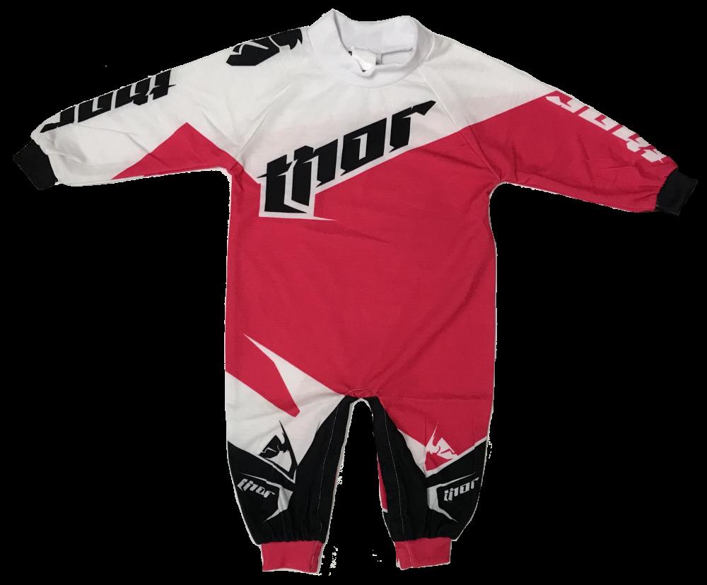 Ensemble de Motocross pour bébé Thor Rose/Blanc/Noir