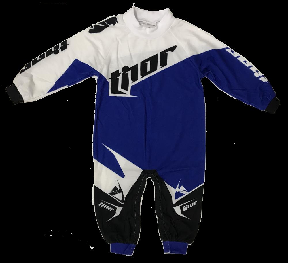Ensemble de Motocross pour bébé Thor Bleu/Blanc/Noir