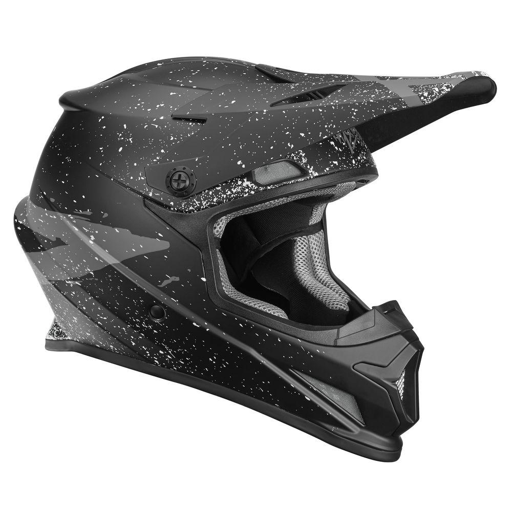 Casque Thor Sector Hype Noir/Charcoal