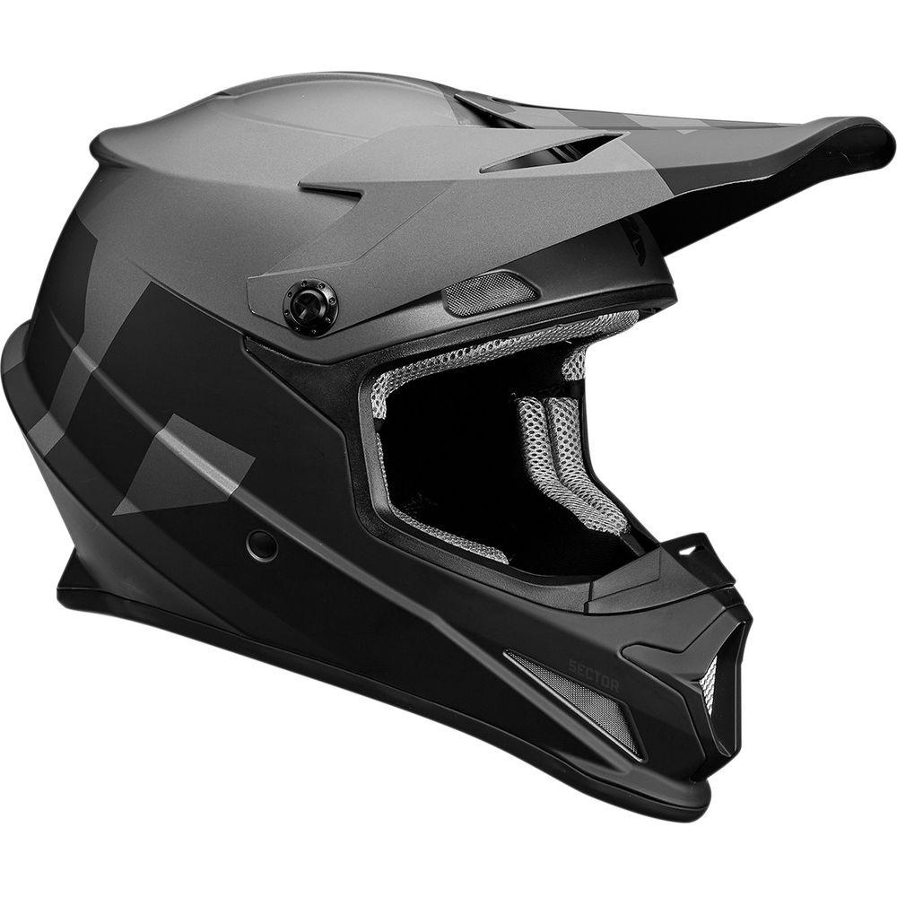 Casque Thor Sector Level Charcoal/Noir