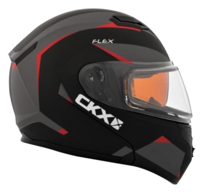 CKX Casque Modulaire Flex RSV, hiver Control Rouge Mat