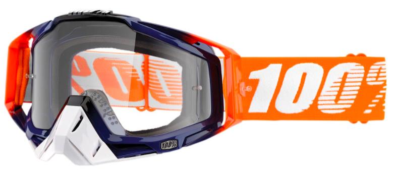 Lunette de protection 100% Racecraft Crush Clear