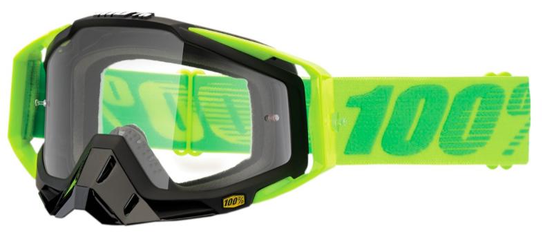 lunette de protection 100% Racecraft Sour Patch Clear