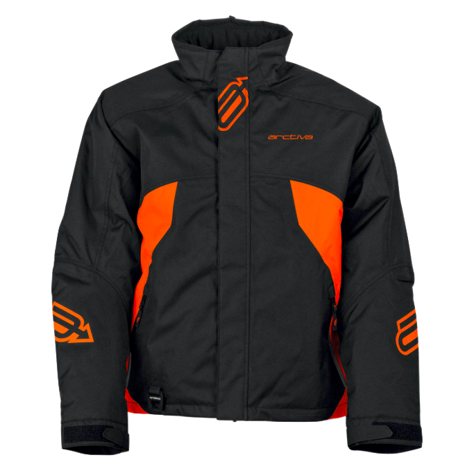 Manteau Arctiva Pivot Noir/Orange