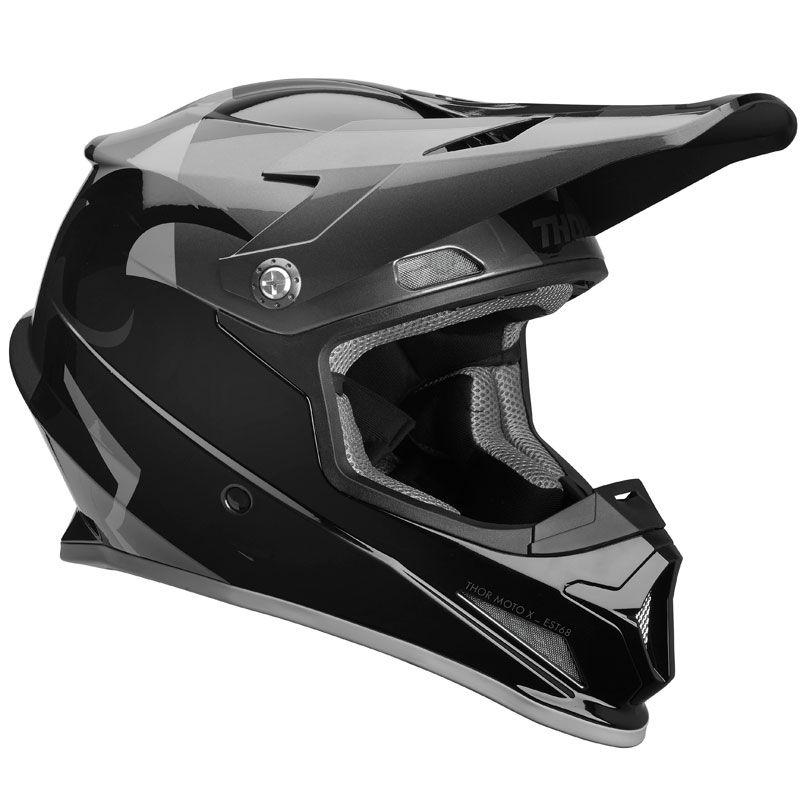 CASQUE CROSS THOR SECTOR SHEAR NOIR CHARCOAL