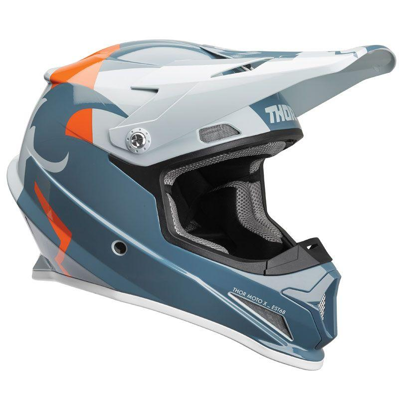 CASQUE CROSS THOR SECTOR SHEAR SLATE SKY