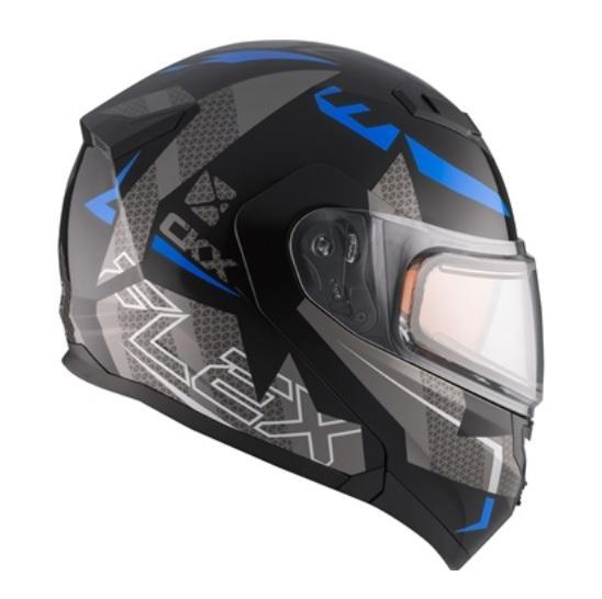 CKX Casque Modulaire Flex RSV, hiver Hero Bleu