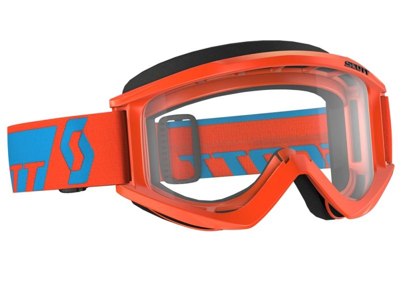 Lunettes de protection Scott Recoil XI Orange Bleu