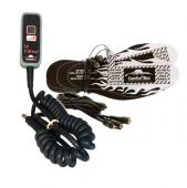 Kit de contrôleur électronique Conforteck Nano avec une paire de semelles chauffantes et un fil Y