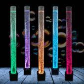 Cylindre d'eau à bulle