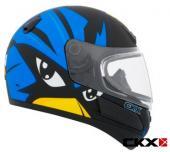 Casque CKX VGK1 Raven pour enfants, Hiver, vtt motoneige chaud visière double