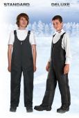 Pantalon de neige imperméable en nylon pour enfants Choko Deluxe, noir, Sherbrooke, Québec