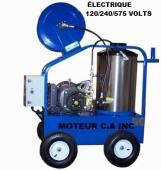LAVEUSE a pression  COMMERCIAL PRESSION EAU CHAUDE électrique  3800 LBS 3.8 GPM