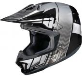 Casque HJC CL-X7 Cross-UP Noir SNELL DOT Motocross