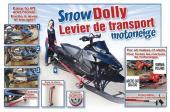 Levier de transport Motoneige Roue 8 pouces 29900800 + 29908800