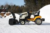 Souffleuse Berco Nordet 44in elect. pour tracteur gazon
