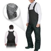 Salopette, Jambière, Pantalon de neige Choko Deluxe en nylon imperméable pour homme, noir, Estrie
