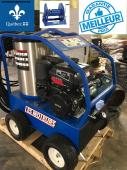 laveuse pression eau chaude commercial 4000 lbs  3.8 GPM avec moteur a essence