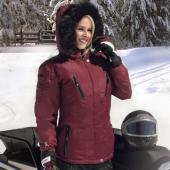 Manteau Choko Adventurer pour Femme, Bourgogne, Large, Sherbrooke, Estrie