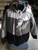 Habit de neige 2 pièces XXL pour femme, manteau et pantalon Choko Nordik, gris pâle, Sherbrooke