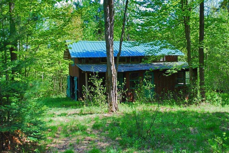Cleveland, estrie,superbe terreà boisà vendre 62 arp, grange, 2 camps de chasse, ruisseau  # Bois De Chasse A Vendre