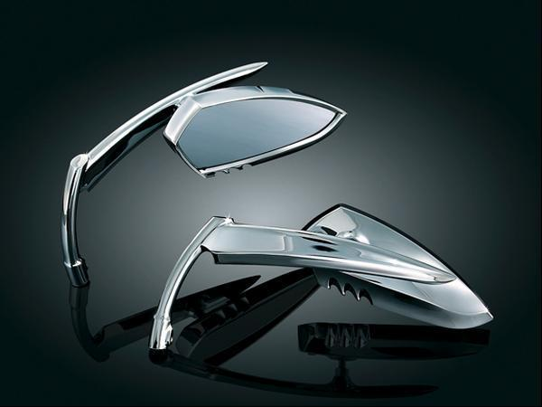 Miroir harley davidson scythe kuryakyn 1449 scythe mirror for Application miroir pc