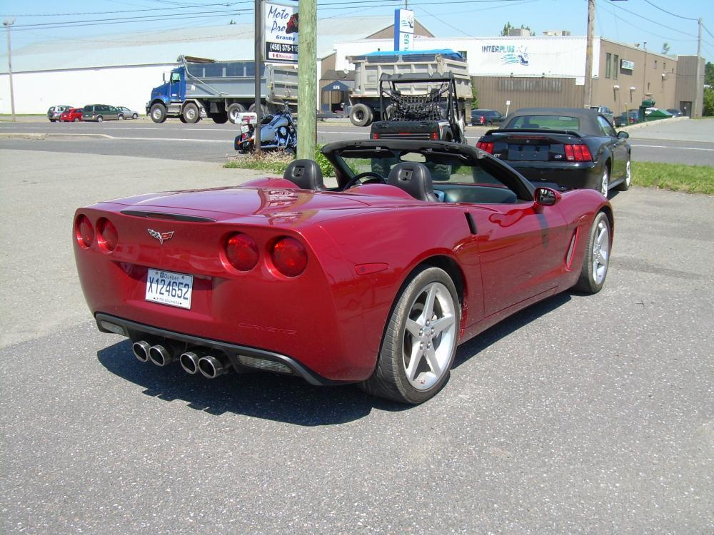 chevrolet corvette convertible 2005 annonce class e. Black Bedroom Furniture Sets. Home Design Ideas