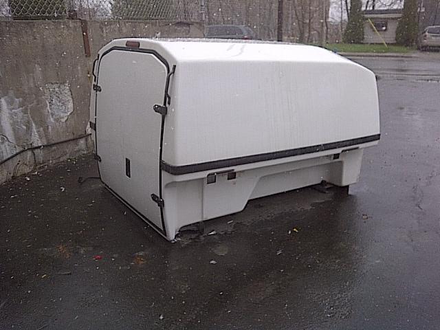 Boite de camion en fibre avec rack en aluminium 2007 pour canyon ou ranger sh - Boite de rangement pour camion ...