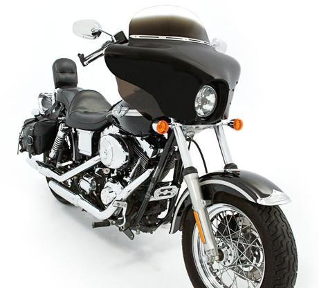 car nage batwing fairing memphis shade quick attache harley davidson 96 10 xl 1200c sportster custom. Black Bedroom Furniture Sets. Home Design Ideas