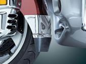Extension chrom�e d'aile avant Kuryakyn Honda 7352 Moto GL 1800 01-12 Front Fender Extension, Estrie