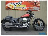 Harley-Davidson, FXS 2011 Black Line, Moto