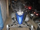 yamaha venture lite 500cc 2007 Bleu, dossier passager, pare-brise haut