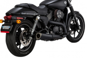 Vance&Hines Competition Series Matte Black Slip-On