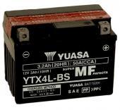 Batterie Yuasa YTX4L-BS AGM �tats-Unis
