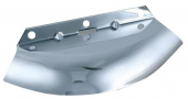 Front Fork Air Baffle Chrome