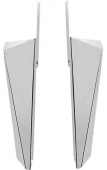 Wing Guards Chrome 0412-0097 FLH 84-13