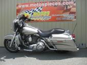 Harley-Davidson FLHX street glide 2007 silver mat $55./sem