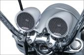 Kuryakyn RoadThunder MTX Speaker Pods Bluetooth 2712 Chrome