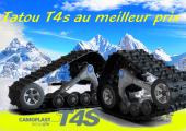 Chenille UTV Camso Tatou T4s 4 saison financement disponible