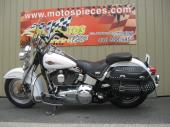 Harley Softail Héritage 2007,blanc/or