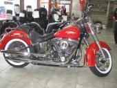 Harley-Davidson Softail Deluxe 2008 FLSTN Téquila Sunrise bas millage