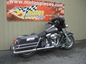 Harley FLHTCU 2007,Black Pearl  Modifié en X