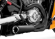 Vance&Hines Competiton Series Black Ceramic  2:1 System V-Rod Muscle