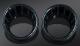 Speedo&Tach Bezel W/LED Gloss Black